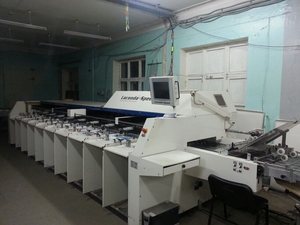 Фото: Heidelberg PM 74-4 + Post press 495000 $
