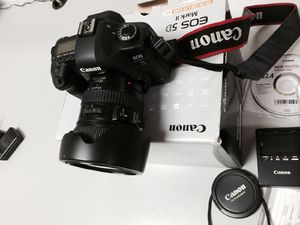 Canon EOS 5D Mark II 21. 1 MP Digital SLR Camera - Black